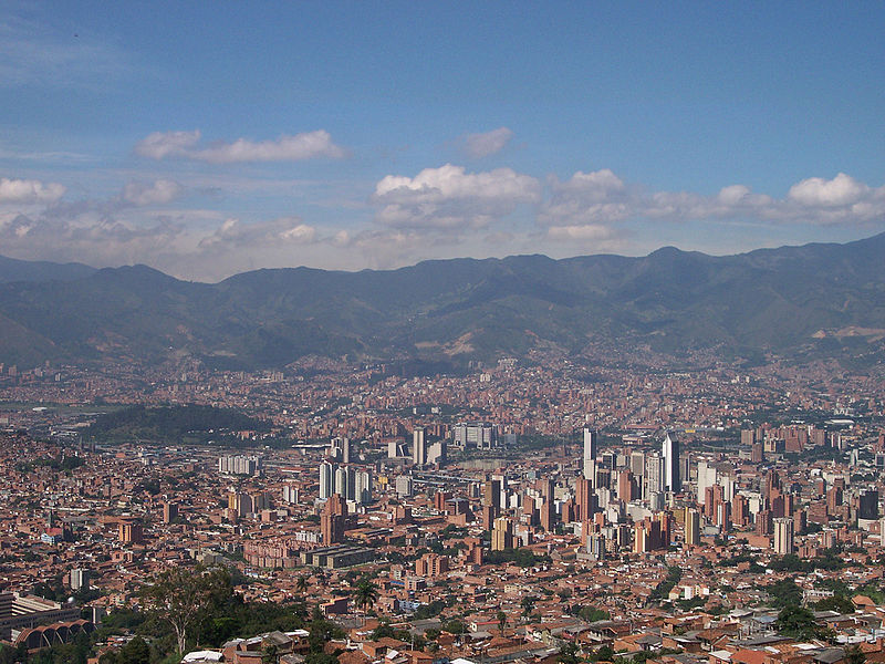 Medellín, Colombia (Wikimedia Commons)